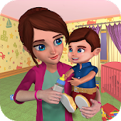 Virtual Mom Newborn Baby Babysitter Daycare Game