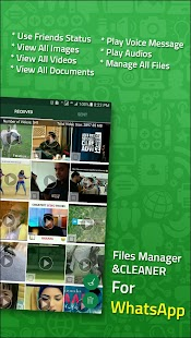 Files Manager and Cleaner for WhatsApp - náhled