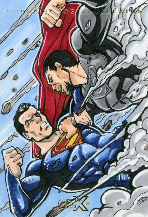 CZX Super Heroes & Super-Villains - Sketch Card