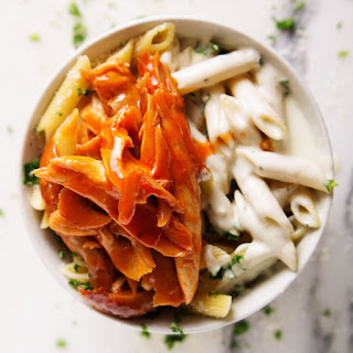 Blue Cheese Penne with Buffalo Chicken Recipe