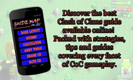 Guide Map For COC 1.9 screenshots 1
