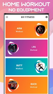 My Fitness – Home Workout App (No Equipment) Full Body Fitness 3
