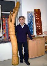 Photo: JAIME CARVAJAL - Holz in Bild und Skulptur. Vernissage am 20.2.2015, Foto: Barbara Zeininger