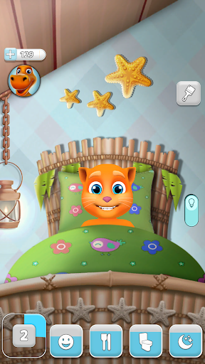 My Talking Cat Tommy - Virtual Pet apkpoly screenshots 3