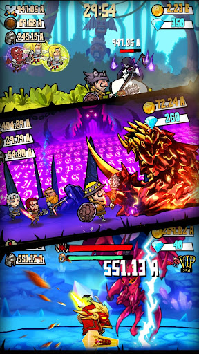 Code Triche Merge And Forge : Idle Weapon Master mod apk screenshots 2