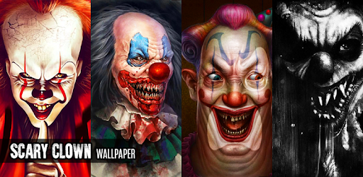 scary clown wallpapers apps on google play
