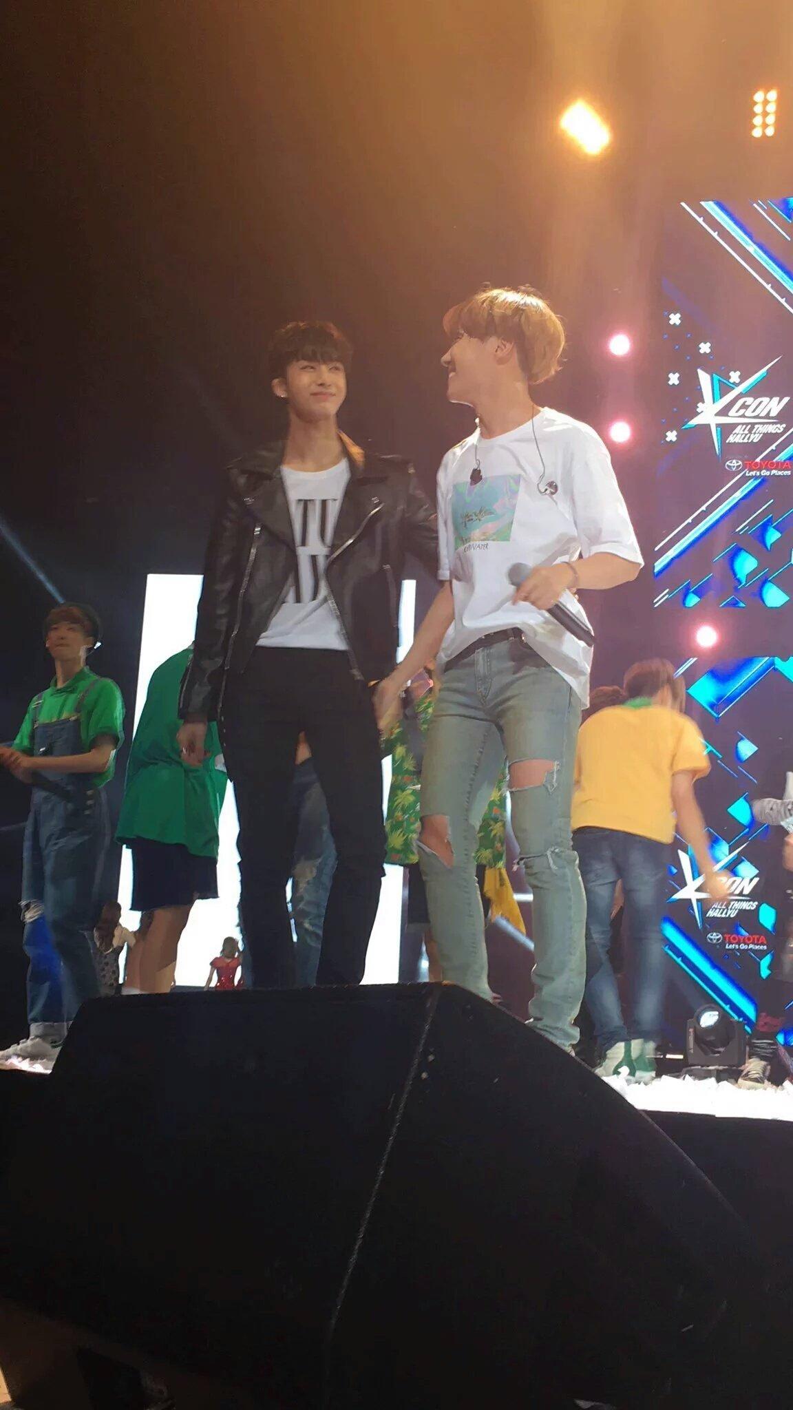 3 bts jhope hoseok monsta x hyungwon @Maylily_BTS