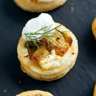 Fennel Puff Pastry Bites with Mascarpone