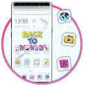 Drawing Note School Launcher Theme ✏️😎 icon