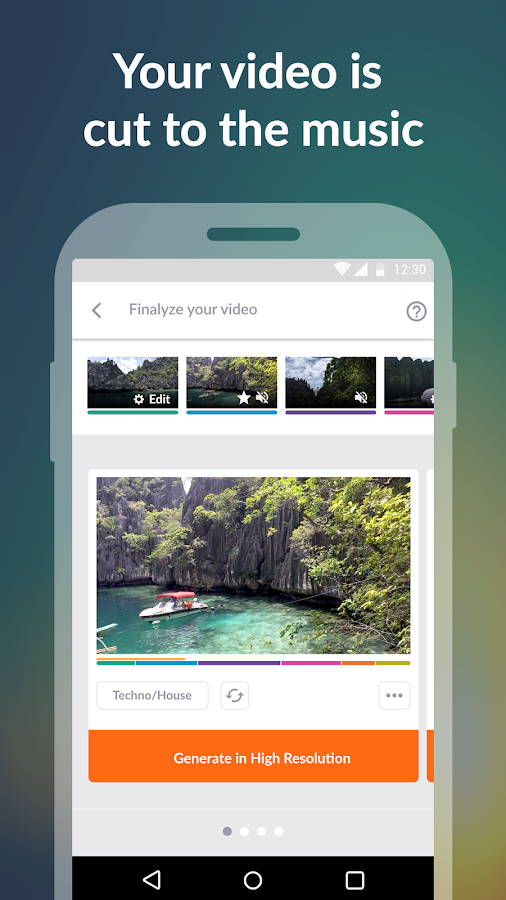 Activity Video Editor &Society- screenshot