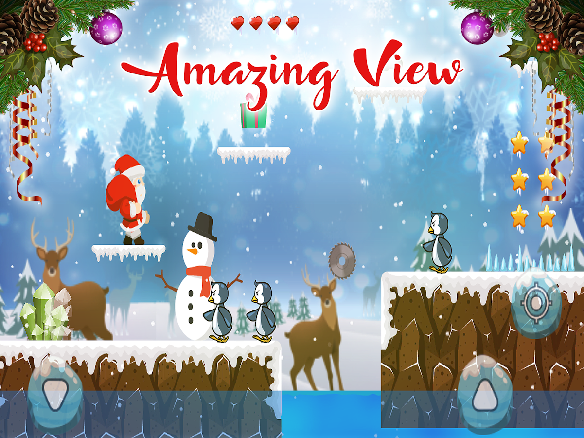 Super Santa Adventure Run- screenshot
