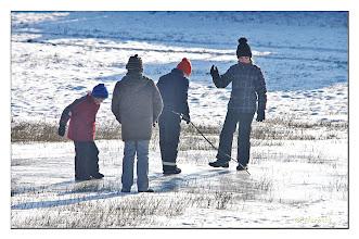 Photo: Spaß auf dem Eis oder Ein Ritt auf Eis