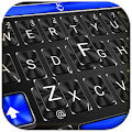 Cool Blue Light Keyboard Theme APK