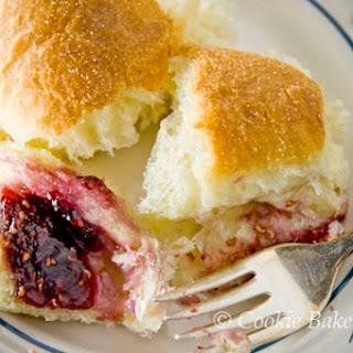 Raspberry Brioche Pull-Aparts