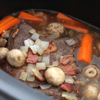 Crock Pot Beer-Braised Pot Roast.