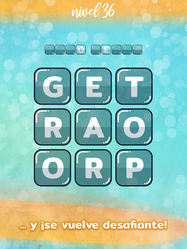 WordBlocks Puzzle de Palabras Cruzadas Gratis screenshots 9