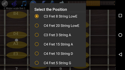 Guitar Scales & Chords Free Added Sustain option screenshots 7