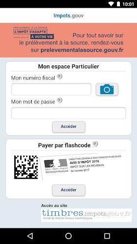 Impots.gouv Android App Screenshot