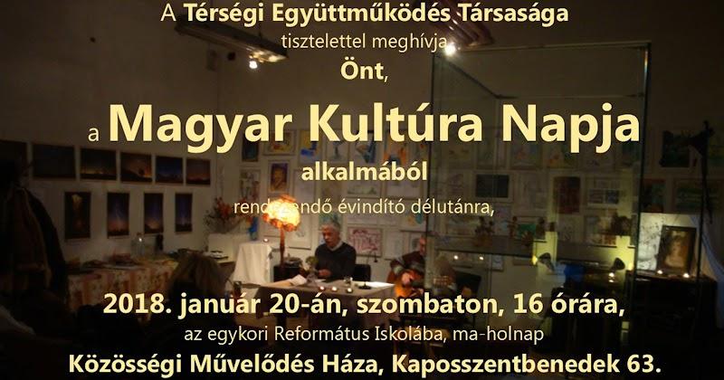 Magyar Kultúra Napja 2018.01.20