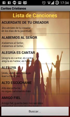 Coritos Cristianos 1.3 screenshot 2088782