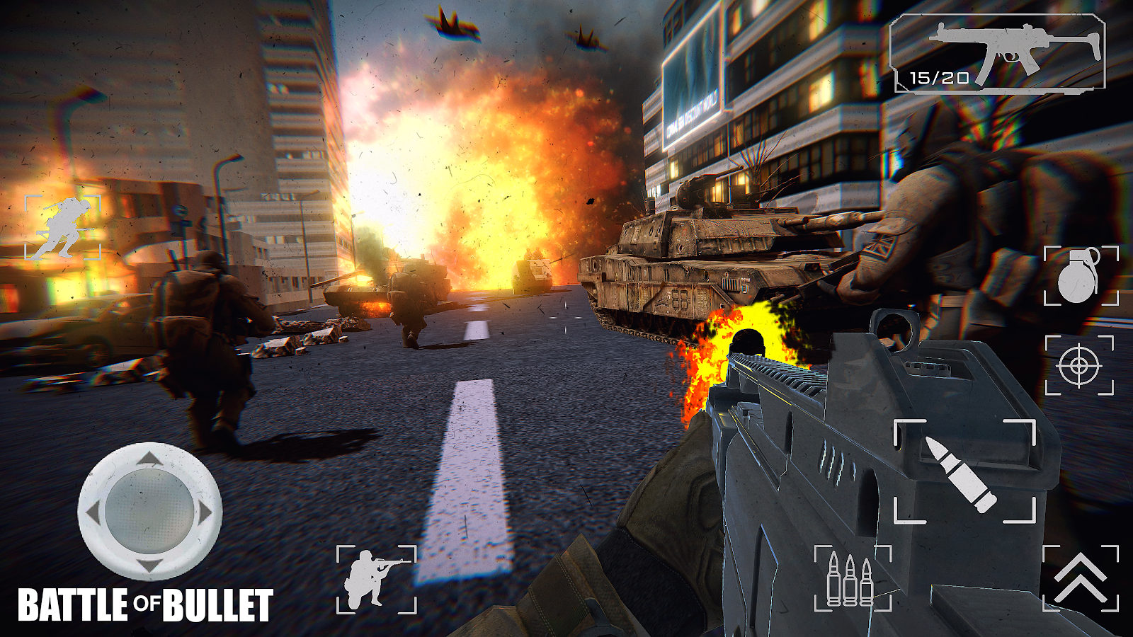 Battle Of Bullet- screenshot