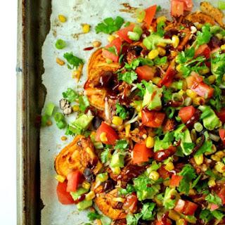 BBQ Chicken Sweet Potato Nachos Recipe