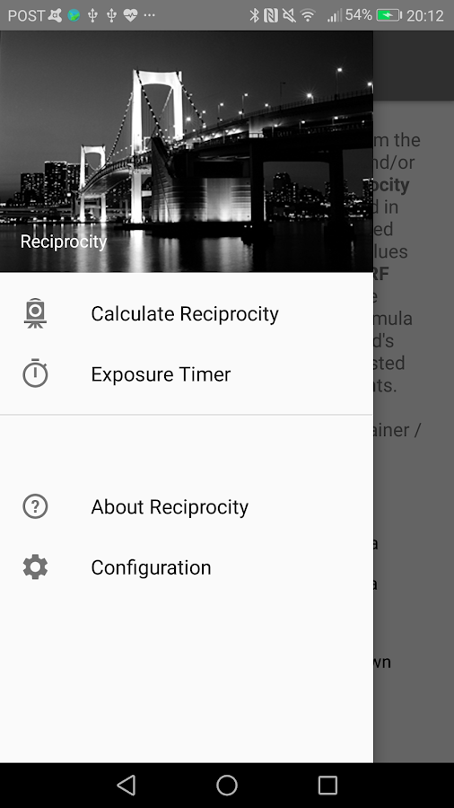 Reciprocity- screenshot