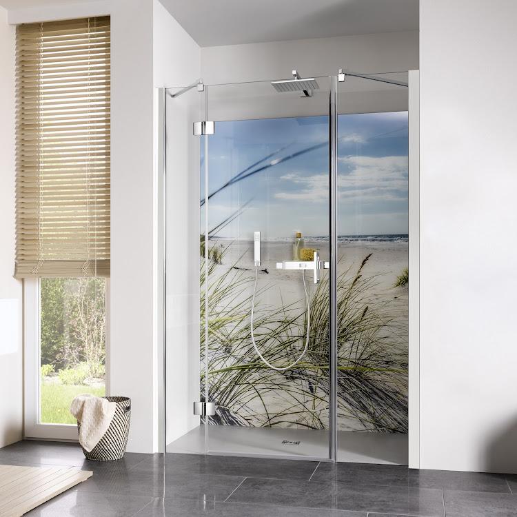 Shower Cabins_Raumnische pendelbar, 3-teilig