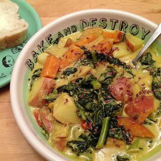Tony'S Snow Day Kale & Potato Stew Recipe