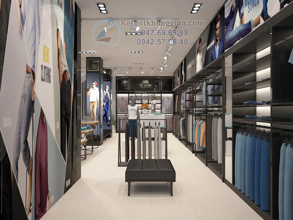 thiết kế cửa hàng thời trang sáng tạo