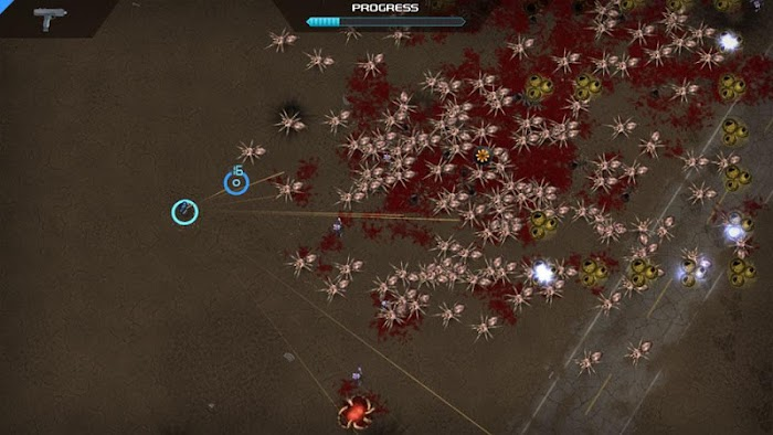 Crimsonland- screenshot