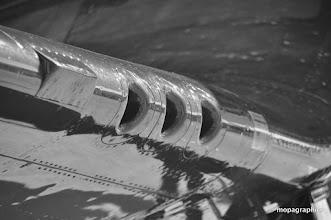 """Photo: et """"les bouches de l'enfer"""" du Corsair F4U-1 tant détestées des ...Japonnais !"""
