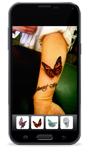 3D Tattoo Camera