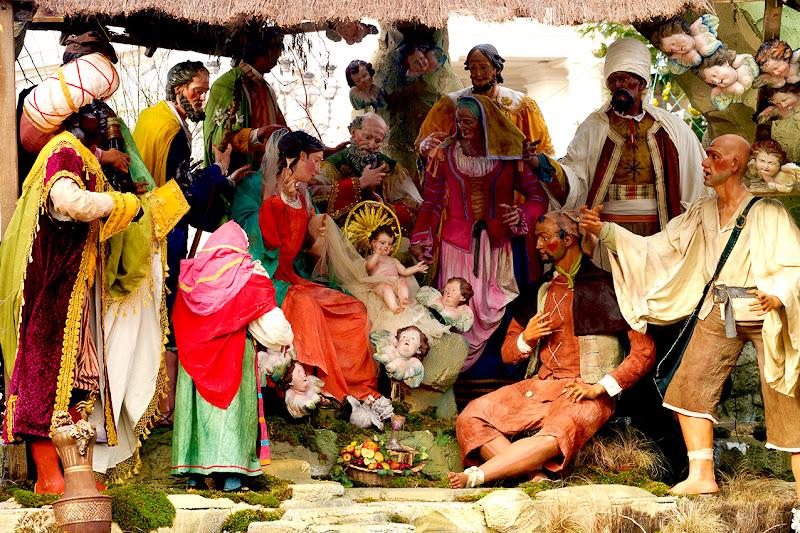 Presepe in Vaticano di cesare carusio