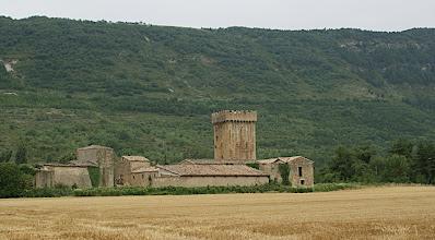Photo: 17 h 20- Un beau château sur la route du retour, à Murillo (Ayantz)