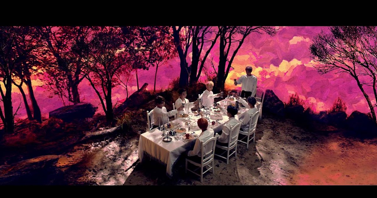 Resultado de imagem para bts blood sweat and tears screencaps