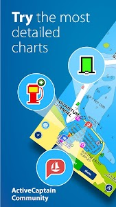 Boating HD Marine & Lakes 10.1.1 (All Charts+Features Unlocked)