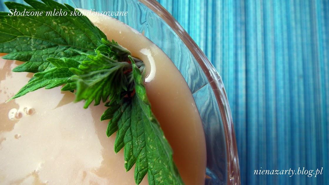 domowe słodzone mleko skondensowane