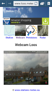Météo Loos (59)- screenshot thumbnail