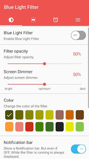 sFilter - Blue Light Filter 1.6.5 screenshots 1