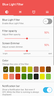sFilter - Blue Light Filter Screenshot