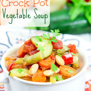 Healthy Vegetable Soup Crock Pot Recipes