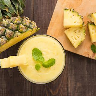 Mango And Pineapple Smoothie Without Yogurt Recipes.