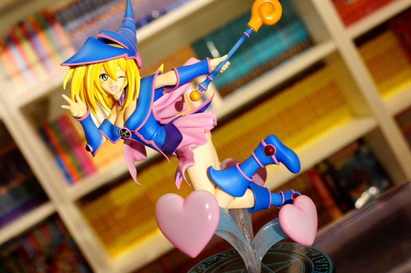 Gekijouban Yu-Gi-Oh! The Dark Side of Dimensions - Black Magician Girl - 1/7 (Kotobukiya)