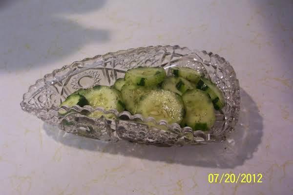 Cold Finnish Cucumbers......(kurkku  Tilli) Recipe