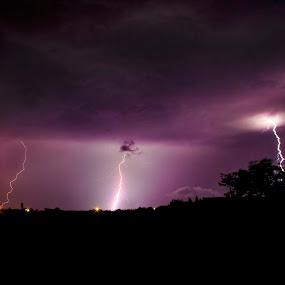 Alien cloud  by Lucian Petrea - Landscapes Weather ( pwcstorm )