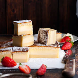 Custard Layer Cakes Recipes.