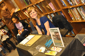 Photo: Library Card Month--Let's Read