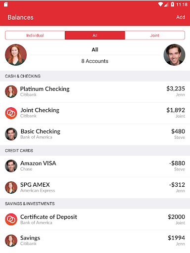 Honeydue: Budget, Bills & Money for Couples - screenshot