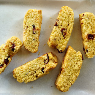 Dried Cranberry And White Chocolate Chip Biscotti